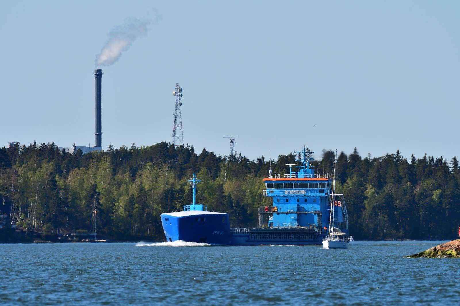 Merilogistiikka otettava mukaan teollisuuden päästökauppaan