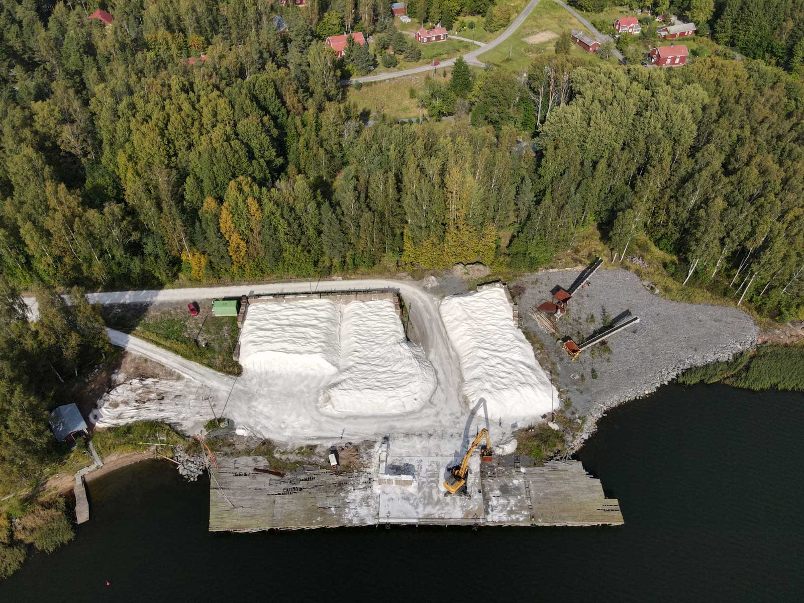 Meriaura Group acquired the port ofSkogby in Raseborg